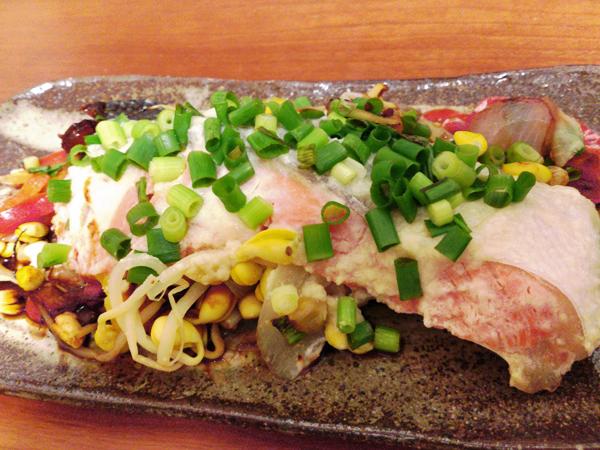 塩麹de鮭のちゃんちゃん焼き風