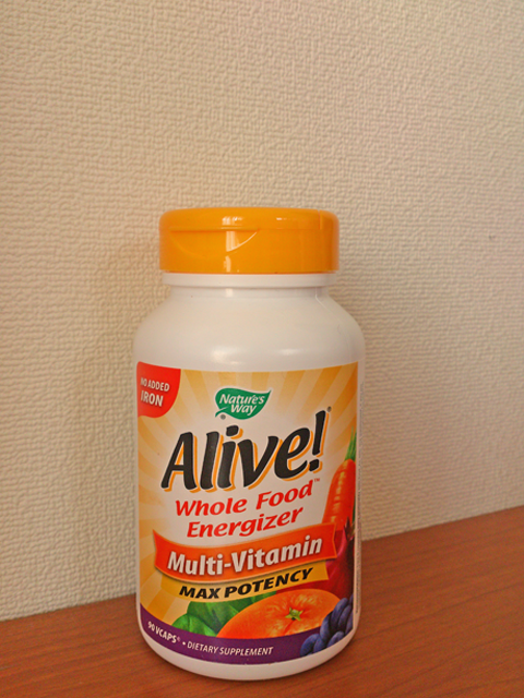Alive! Whole Good Energizer Multi-Vitamin