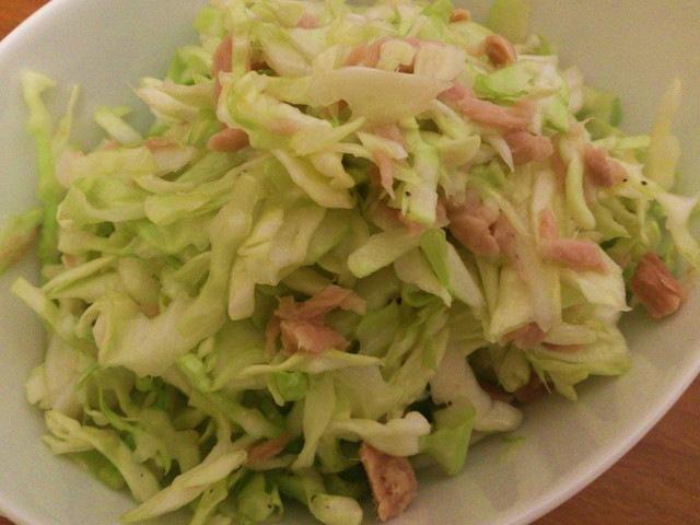 キャベツのクレソルサラダ
