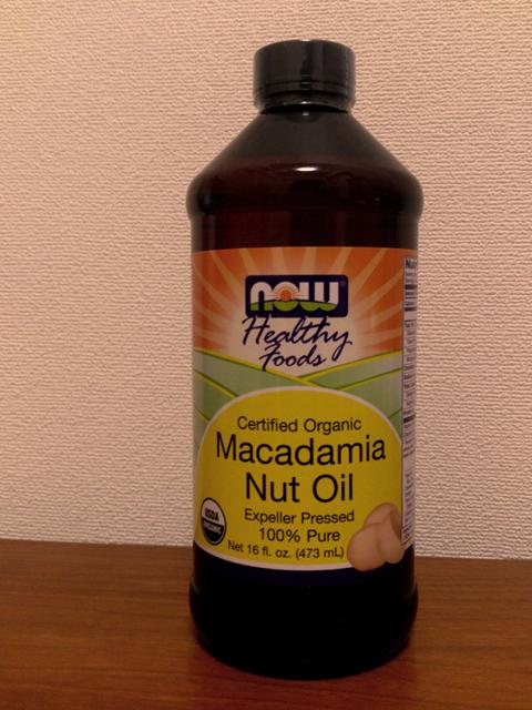 Now Foods Macadamia Nut Oil